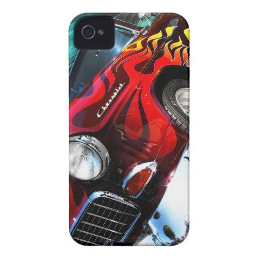 Hot Rod Chevy Blackberry Bold Case