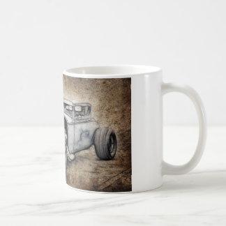 Hot Rod Coupe Basic White Mug
