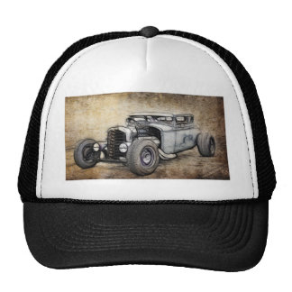 Hot Rod Coupe Mesh Hats