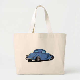 Hot Rod Coupe Large Tote Bag