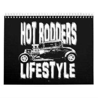 Hot Rod Coupes Calendar