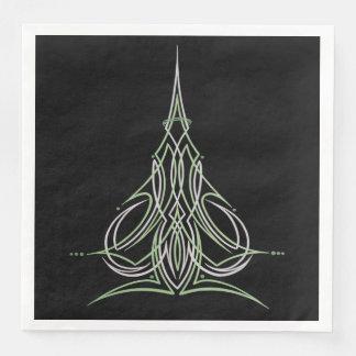 Hot Rod Custom Car Pinstripe Pinstriping Art Paper Napkin