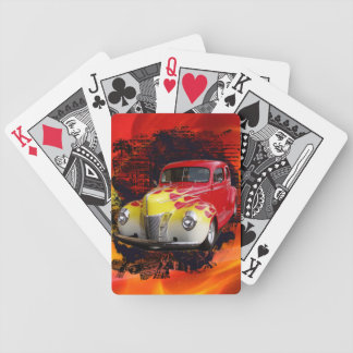 Hot Rod Deluxe Bicycle Playing Cards
