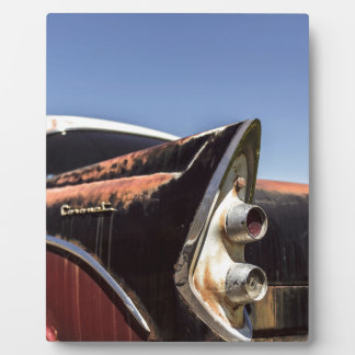 Hot rod display plaque