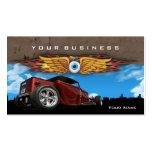 Hot Rod Earthmonster Business Card Templates