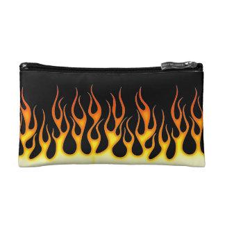 Hot Rod Flames Makeup Bag