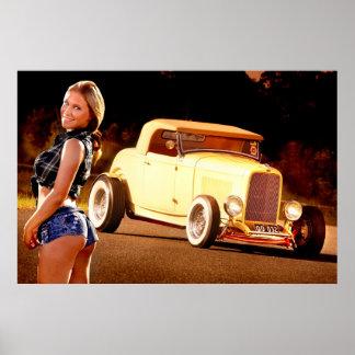 Hot Rod Girl! Poster