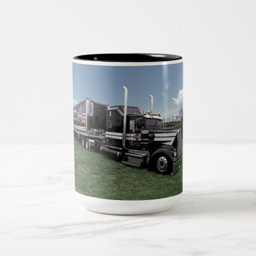 Hot Rod Kenworth W900L Mug