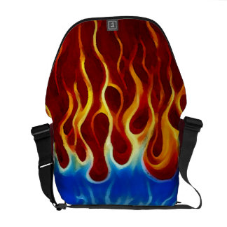 Hot Rod Messenger Bag