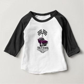 hot rod purple flags baby T-Shirt