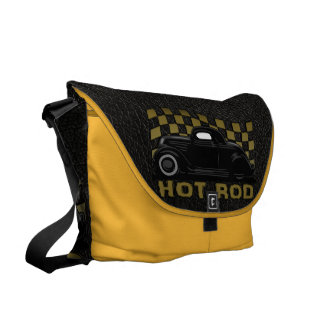Hot Rod Racer Courier Bags