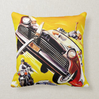 Hot Rod Rumble Cushion