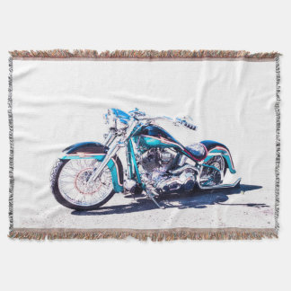 Hot Rod Throw Blanket
