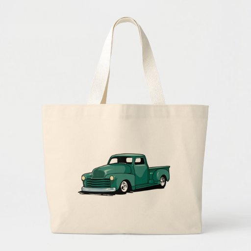 Hot Rod Truck Canvas Bags