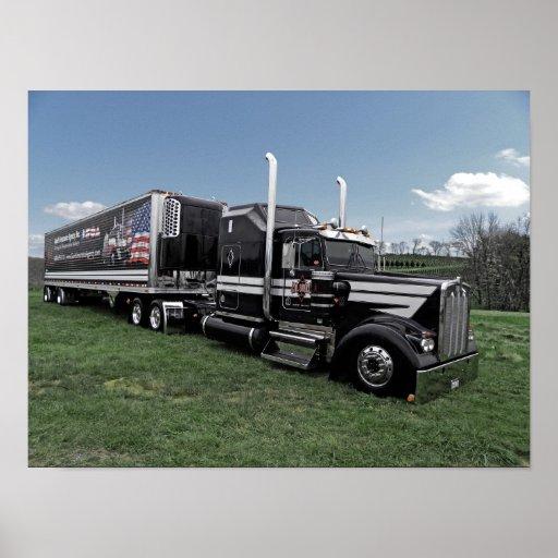 Hot Rod Truckin Kenworth Posters