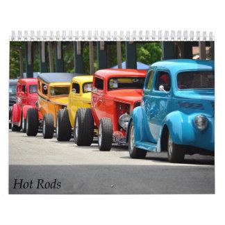 Hot Rods 2016 Calendar