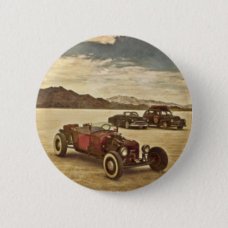 Hot Rods at Bonneville 6 Cm Round Badge