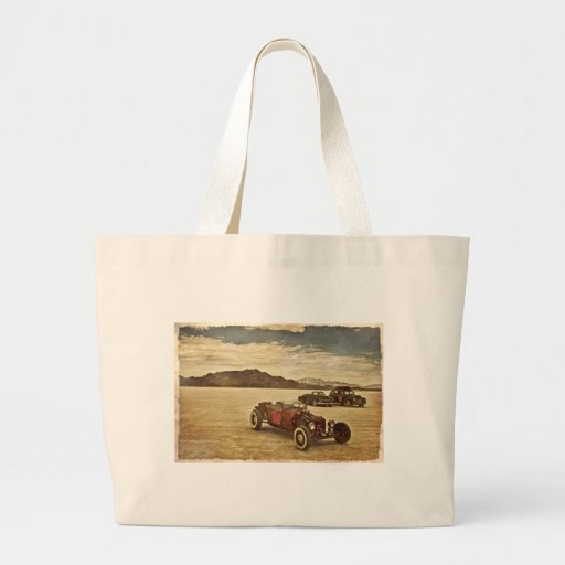 Hot Rods at Bonneville Tote Bags
