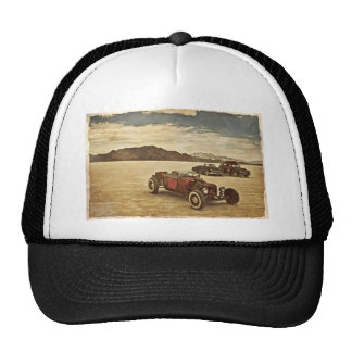 Hot Rods at Bonneville Mesh Hat