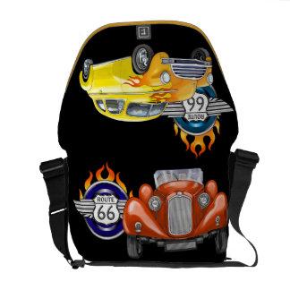 Hot Rods / Route 66 Bag - SRF Commuter Bag