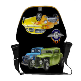 Hot Rods- Route 66 - SRF Commuter Bag