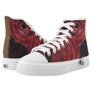 Hot Roses High Tops