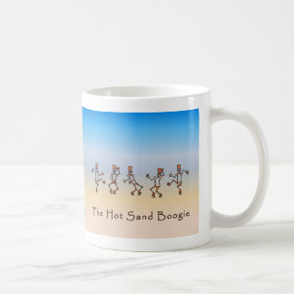 Hot Sand Boogie Basic White Mug