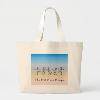 Hot Sand Boogie Jumbo Tote Bag