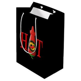 Hot sauce bottle medium gift bag
