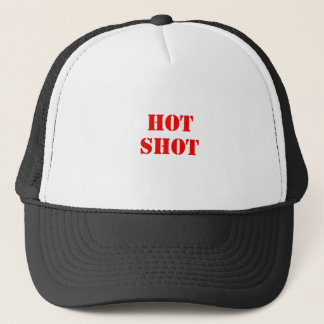Hot Shot red Trucker Hat