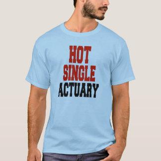 Hot Single Actuary T-Shirt