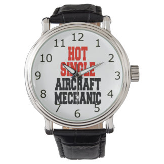 Hot Single Aircraft Mechanic Watch