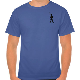 Hot Single Bagpipe Player T-shirt