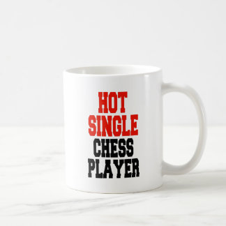 Hot Single Chess Player Coffee Mug
