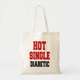 Hot Single Diabetic Tote Bag