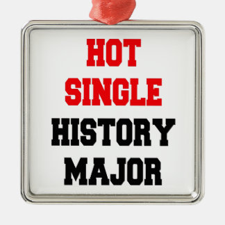 Hot Single History Major Metal Ornament