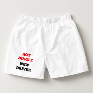 Hot Single New Driver Boxers