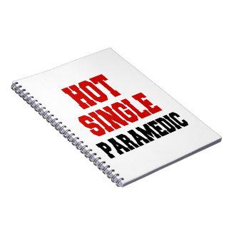 Hot Single Paramedic Spiral Notebooks
