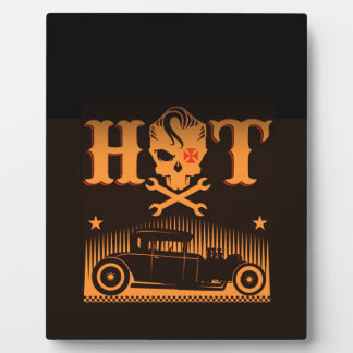Hot Skull Rods Display Plaque