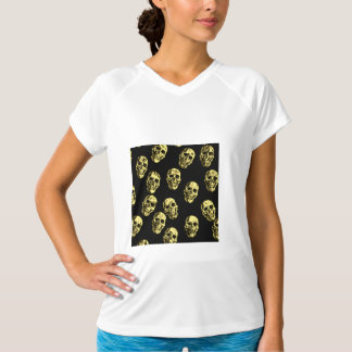 Hot Skulls,eggshell T-Shirt