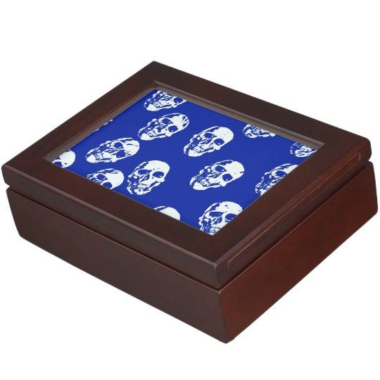 Hot Skulls,white Keepsake Box