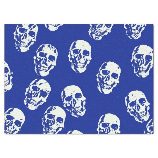 Hot Skulls,white Tissue Paper
