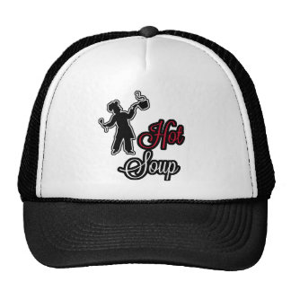 Hot Soup CAP/Cap Trucker Hat