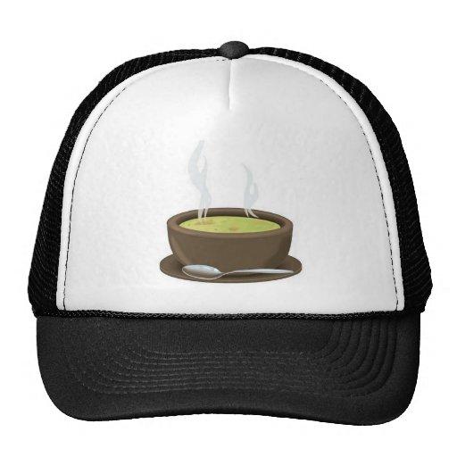 Hot soup vector trucker hat