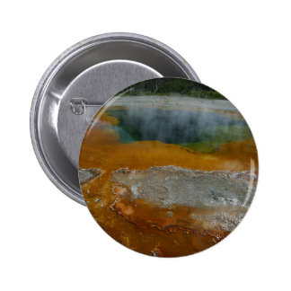 Hot Spring 6 Cm Round Badge