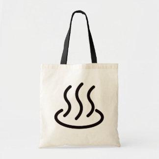 Hot spring mark 2 (black) tote bag