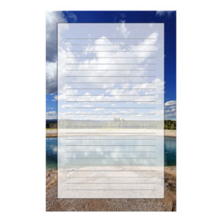 Hot Spring Stationery Paper