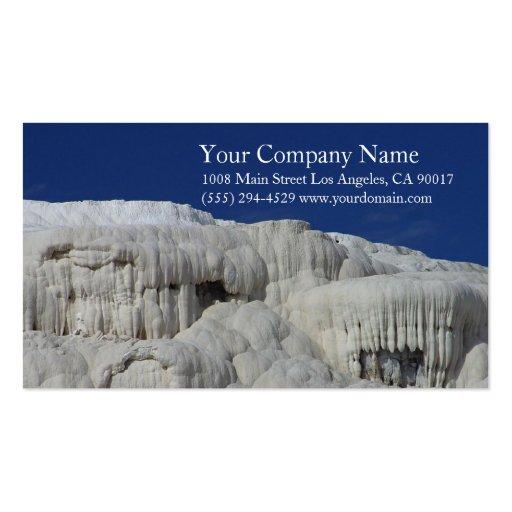 Hot Springs Blue Sky Business Card