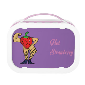 Hot Strawberry Lunch Box