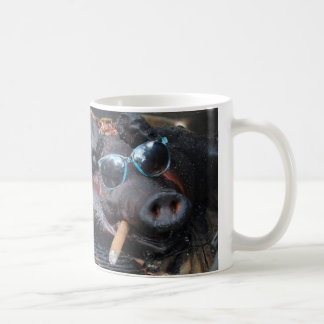 Hot Stuff Pig Coffee Mug